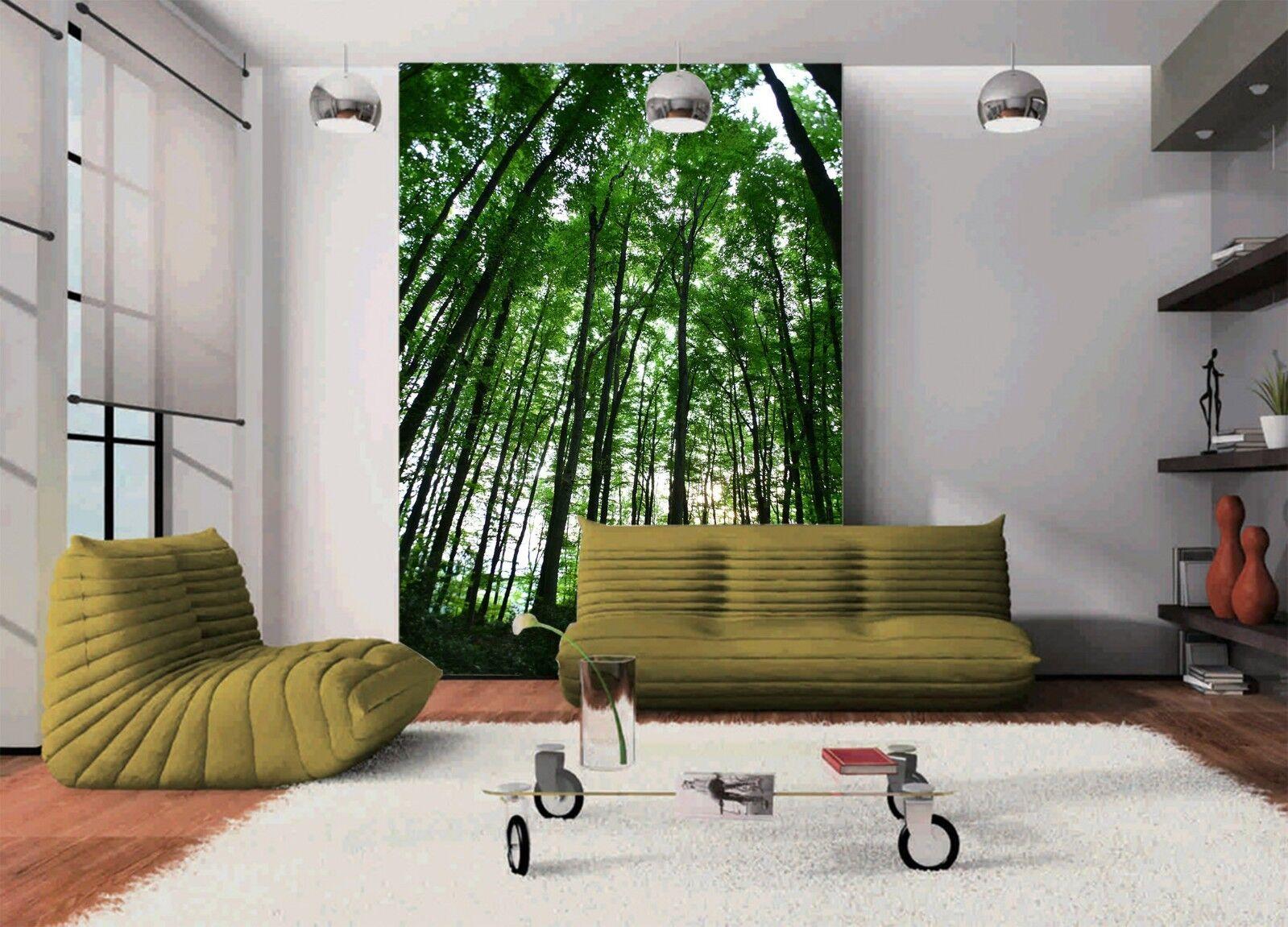 3D Forest Nature 827 Wallpaper Mural Wall Print Wall Wallpaper Murals US Lemon