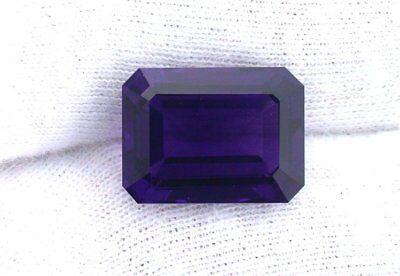 16x12 16mm x 12mm Emerald Octagon Rich Color Natural Amethyst Gem Stone Gemstone