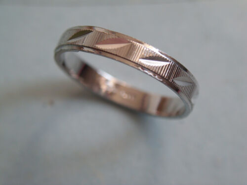 Anillo de la promesa 800er plata diamante esmerilado vorsteckring 3 mm plata talla 57