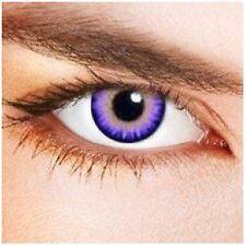 lentilles de couleur violet 1 an - contact lenses