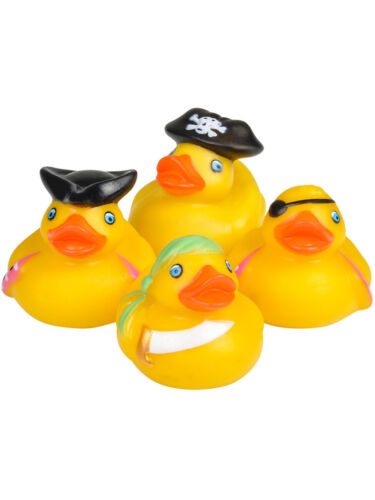 Toy Pirate Rubber Ducks Bath Set Of 12