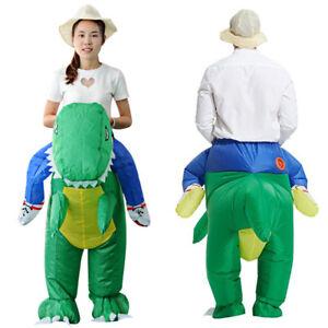 Children-Adult-Inflatable-T-Rex-Dinosaur-Fancy-Dress-Outfit-Halloween-Costume
