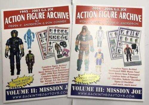 GI JOEGUIDE BOOKS: 1000+ pics of 700+ figures lot of 2 3-3//4 1:18