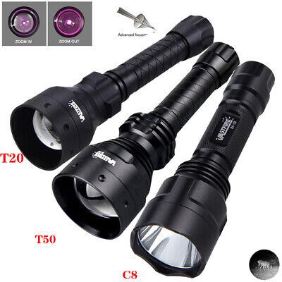 illuminator 501B 940nm Infrared Flashlight IR Zoom Night Vision Torch Gun Mount