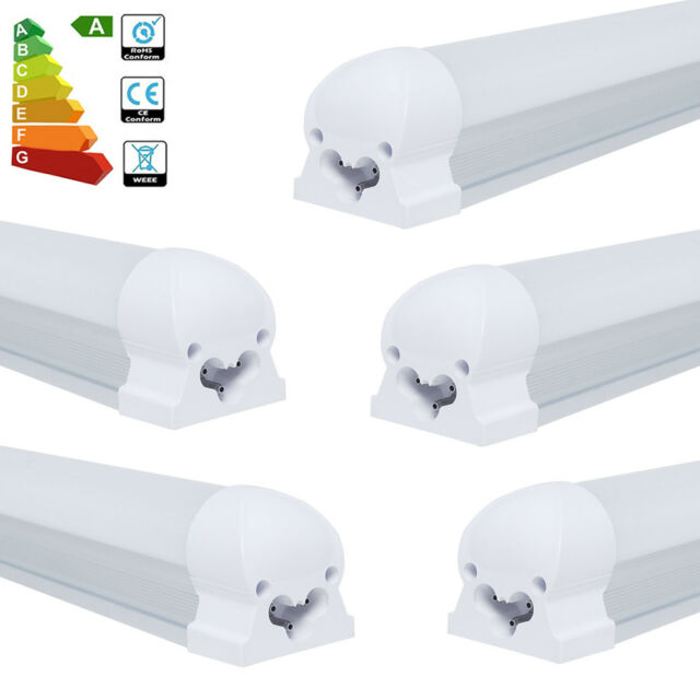 1/5x T8 5W 9W LED Tube Light Lamp Fluorescent Replacement 30cm 60cm 6000K 3000K