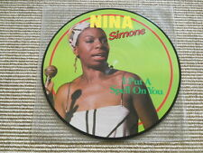 Nina Simone I put a spell on you - Picture LP - washed / gewaschen (Near Mint)
