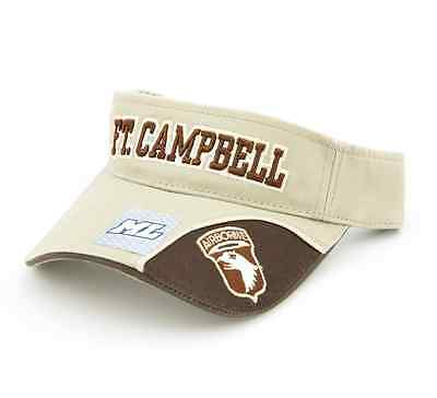 Campbell 101st Airborne Division Ft Embroidered Visor A373