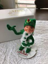 """Annalee 9/"""" Workshop /& 10/"""" Bed Time Elf Christmas Elves Doll Set 500116 /& 500516"""