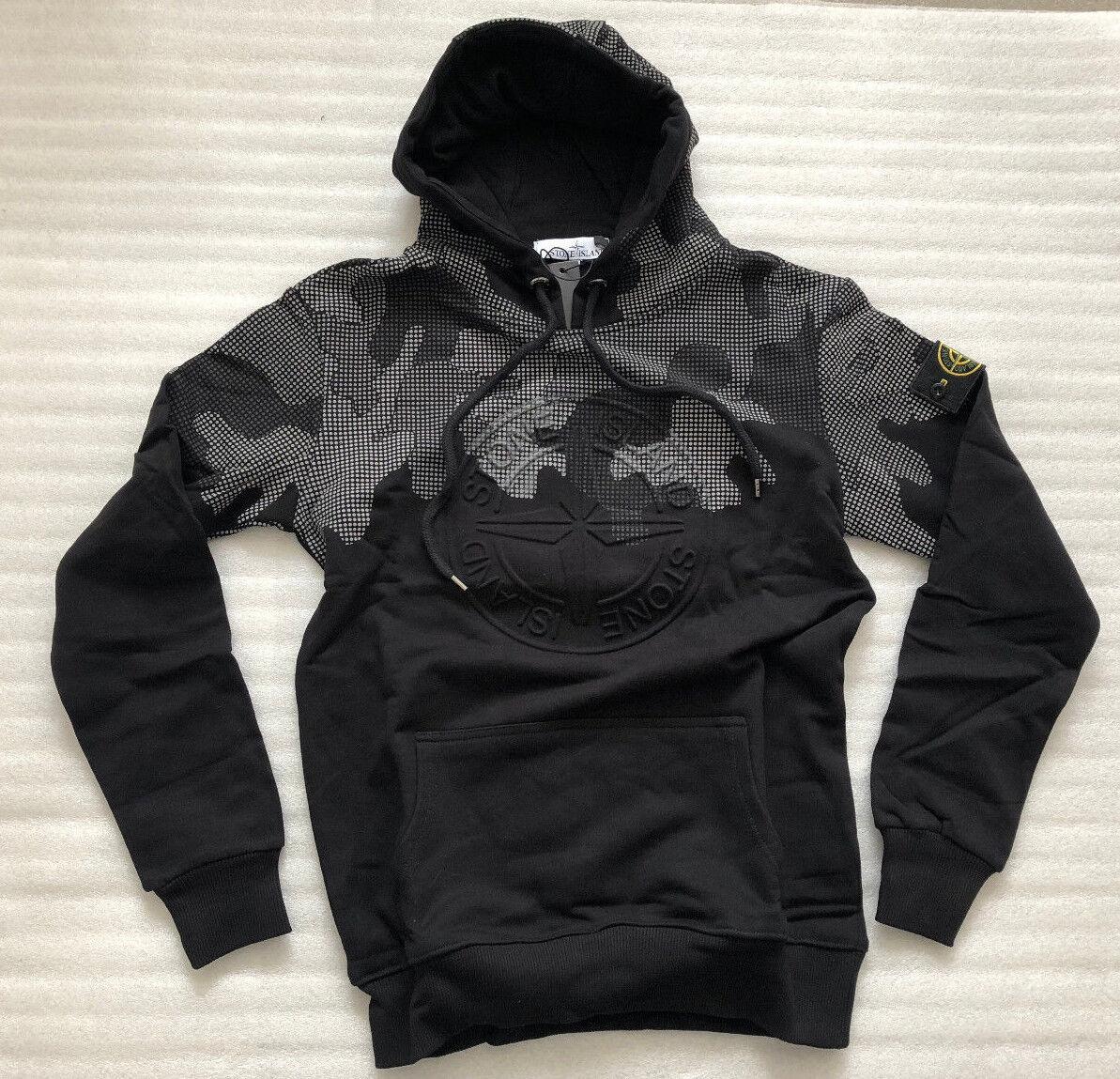 New Stone Island Herren Sweatshirt Hoodie Größe XL