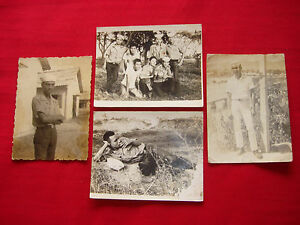 Set Of 4 Vintage ARVN Navy Sailor Photos From Vietnam War Era