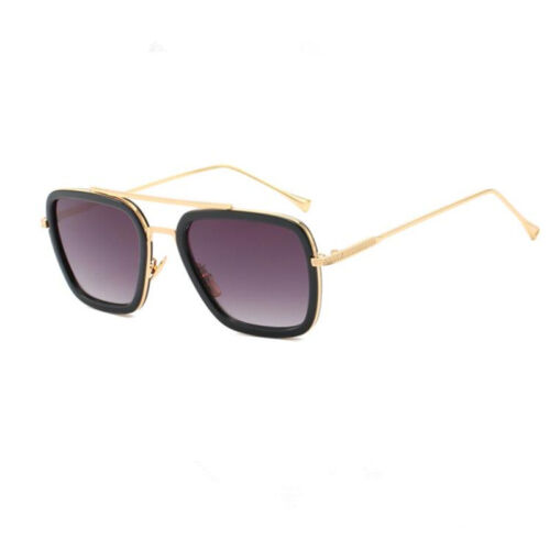 Spiderman Far From Home Iron-Man Glasses Peter Parker Cosplay Edith Sunglasses