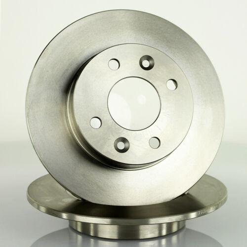 2x Bremsscheibe vorne 238mm für RENAULT RAPID KASTEN //// TWINGO I //// SUPER 5