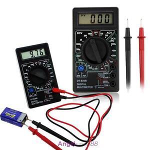 Dt830b Portable Voltmeter Digital Lcd Multimeter Strommessgerat