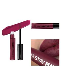 5e6c72d6a42 RIMMEL LONDON Stay Matte Liquid Lip Color - Plum This Show 810 | eBay