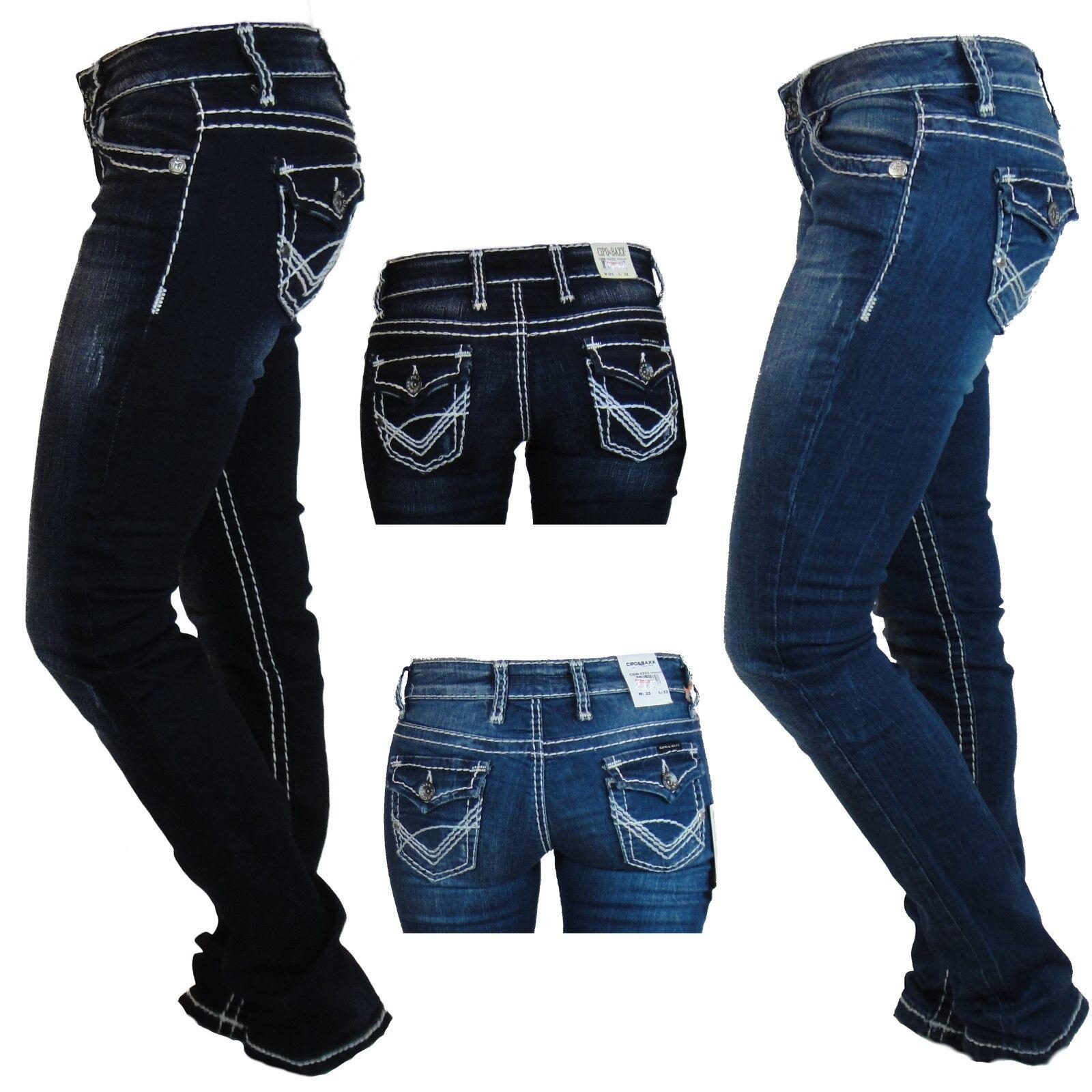 Cipo & Baxx Baxx Baxx Jeans Hose Damen Cbw-231 Cbw-232 Klapptasche | Vogue  61d86b