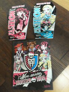 Ensoleillé Lot De 3 Carnets Monster High
