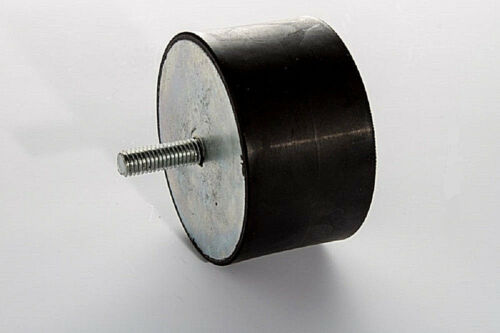 Gummipuffer Silentblock Typ D  M10  Ø 60 H 40  Silent Block Bloc Maschinenfuss