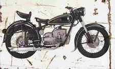 DKW IFA BK350 1956 Aged Vintage Photo Print A4 Retro poster
