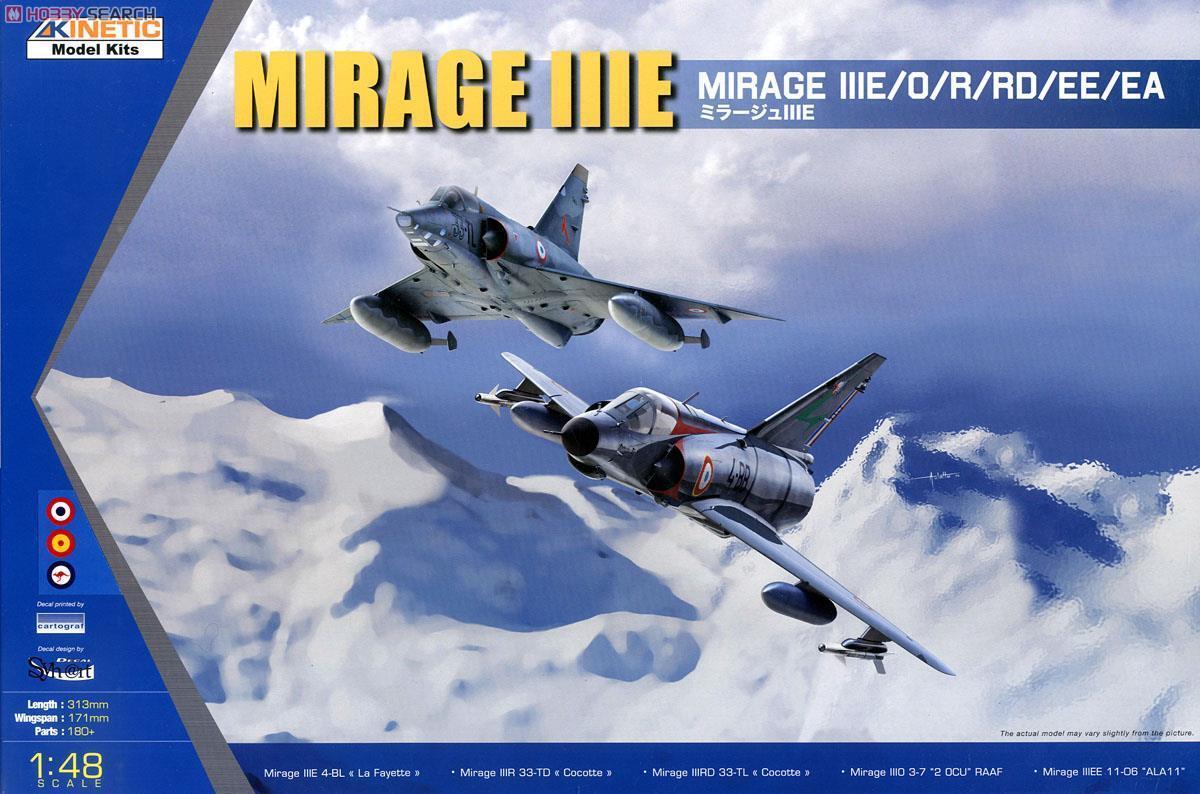 1 48 Kinetic Mirage III E O R RD EE EA