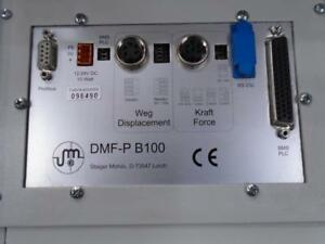 STAIGER-MOHILO-KIRSTER-FORCE-DISPLACEMENT-MEASUREMENT-UNIT-DMF-P-B100