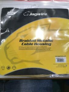 AMM Carbon Silver Braided Jagwire UCK326 Universal 2X Sport Shift Cable Set