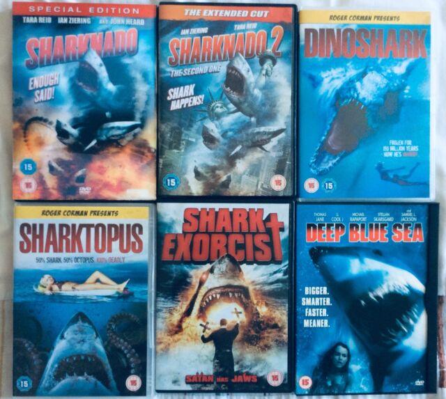 Sharknado KILLER SHARK Collection - RARE 6 Movie Collection