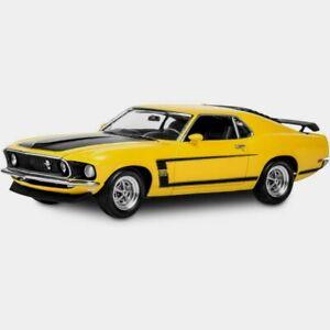 Revell 1969 Boss 302 Mustang Plastic Model Kit 1:25 NEW