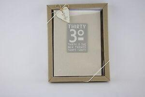 Este-de-la-India-Lino-30-30-es-el-nuevo-20-Cumpleanos-Foto-Album-En-Caja-Shabby-Chic