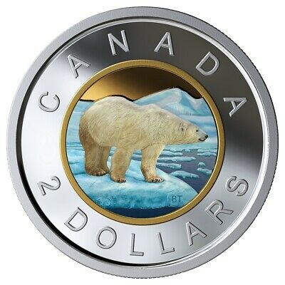 CANADA 2019 50 CENTS 99.99/% PROOF SILVER COLOURED HALF-DOLLAR HEAVY CAMEO COIN