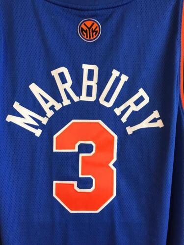 NEW YORK KNICKS STEPHON MARBURY REEBOK AUTHENTIC VINTAGE BASKETBALL NBA JERSEY
