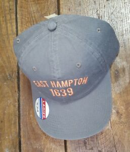 NWT-EAST-HAMPTON-1639-Baseball-Cap-Hat-Ladies-Strapback-NEW-by-The-Game-D