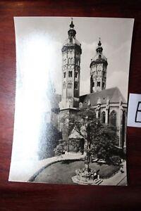 Belle Carte Postale Vue Carte Saxe-anhalt à Dom Naumburg (saale)-afficher Le Titre D'origine