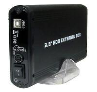 "EXTERNAL USB 2.0 to S-ATA + IDE 3.5"" HD Hard Disk Drive Enclosure DATA Store 807"