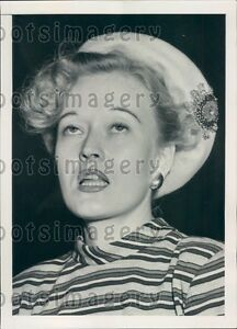1950 Actress Ila Rhodes 3rd Wife Of Major General Bennett Meyers