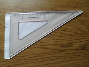 Rumold Zeichendreieck 6325 Plexiglas *1 Stück* *Neu*