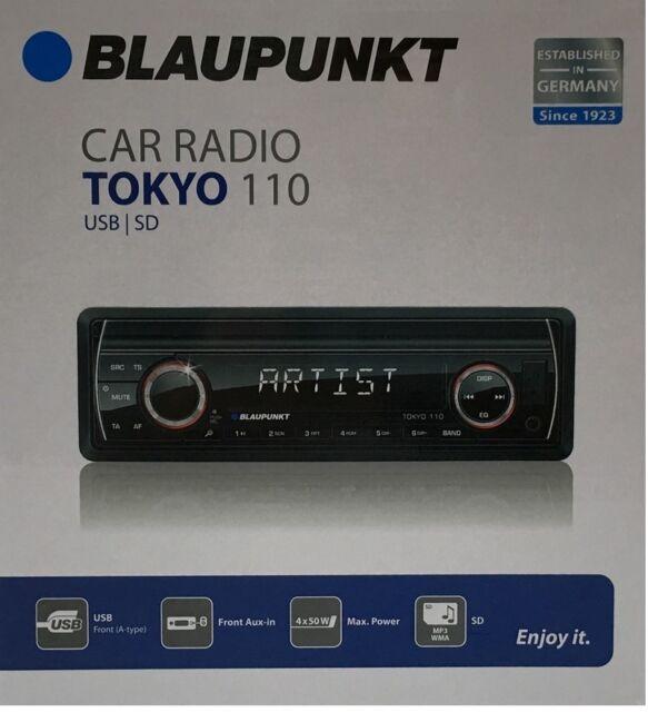 Blaupunkt Tokyo 110  Autoradio mit SD / MP3 / USB / AUX Mega Power 4 # 50W