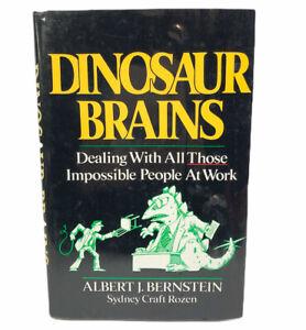 Dinosaur Brains Dealing With Impossible People At Work Coworker Albert Bernstein 9780471618089 Ebay