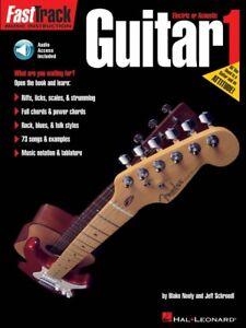 100% Vrai Fasttrack Guitar Method Book 1-music Instruction 000697282 Neuf-afficher Le Titre D'origine Dans Beaucoup De Styles