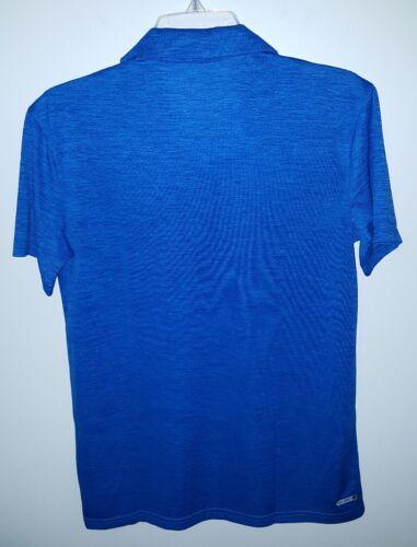NWT Old Navy Active Boys 14-16 Short Sleeve Polyester Polo Shirt BLUE  #32117