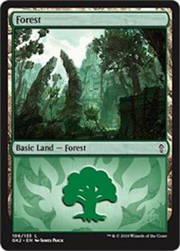 ***10x Forest *** MINT Ravnica Allegiance Guild Kits MTG Magic Cards Gruul