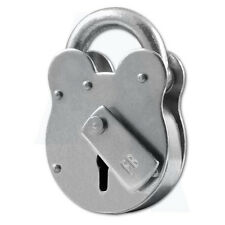 Asec FB1 4 Lever Old English Padlock London Fire Service Supplied with Key