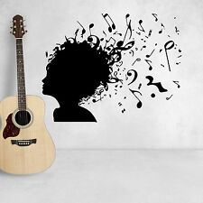 Wall Decal Music Notes Removable Vinyl Stickers Music Wall Decor Art Murals D216