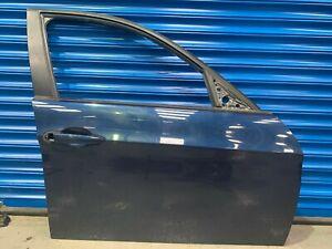 GENUINE-BMW-3-Series-E90-E91-Door-FRONT-Right-O-S-Deep-Sea-Blue-Metallic-A76