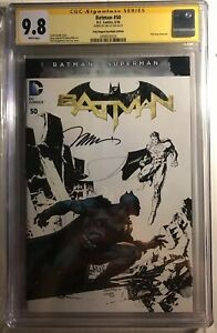 Batman-50-Superman-Sketch-Variant-CGC-SS-9-8-Signed-By-Jim-Lee