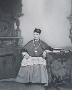 REVEREND-JOHN-IRELAND-Archbishop-of-St-Paul-Portrait-1889-Antique-Print