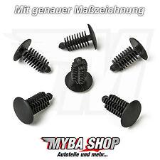 20x universal plástico tannenbaum clip en negro | 13,8 mm x 20 mm