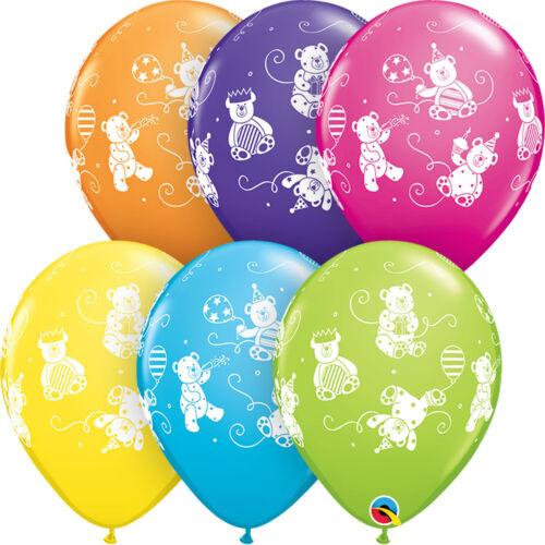 Hélium // Imprimé Animal Latex /& Forme Feuille Qualatex Ballons Anniversaire