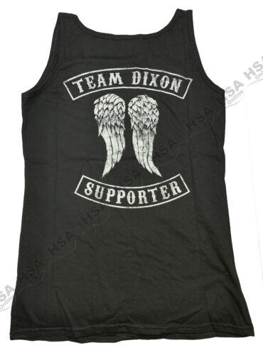 Ladies Walking Dead TV Series,Daryl Dixon Love Black Vest,Small,XL,ChristmasGift