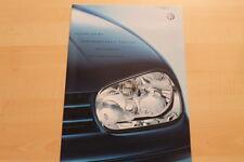 74695) VW Golf IV + Variant Sport Edition - Preise & Extras - Prospekt 03/2001