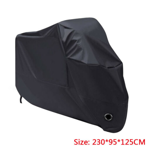 XL Motorcycle Waterproof Outdoor UVProtective Motorbike Rain Vented Bike Cover